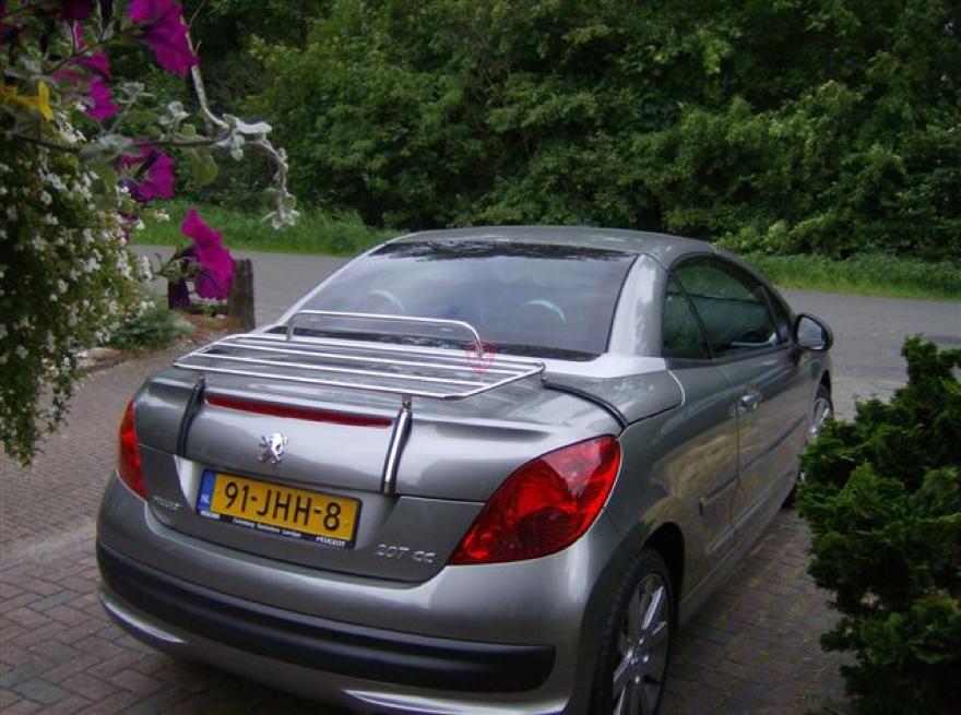 peugeot 207cc bagagerek 2007 2012 cabrio supply. Black Bedroom Furniture Sets. Home Design Ideas