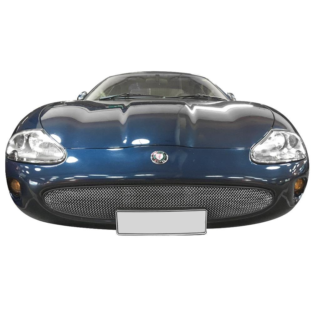 Jaguar XK8 / XKR / X100 Convex RVS grille (1996-2003 ...