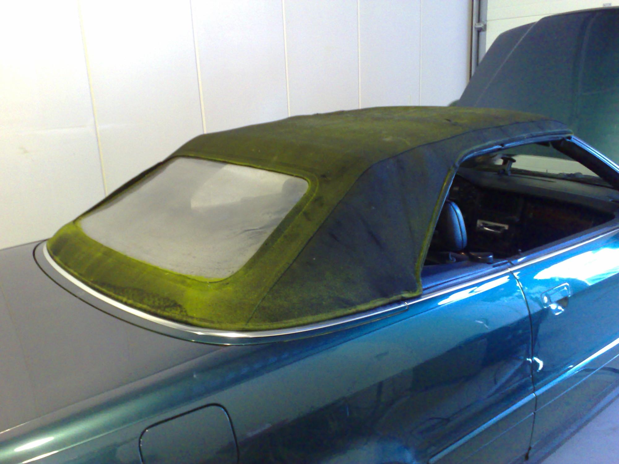 Audi 80 cabriodak groen